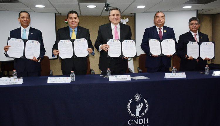 25 Signa la UAT convenio para la creación del Doctorado Interinstitucional en Derechos Humanos