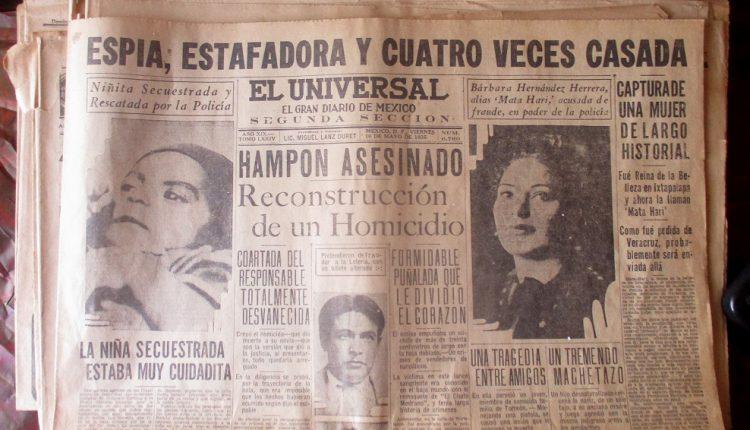 00 Portada de la segunda sección de la edición de 10 de mayo de 1935 del diario El Universal.