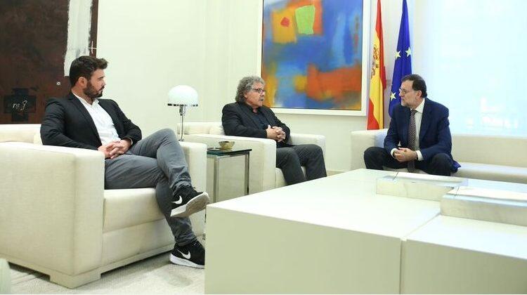 01 2 Diputado catalán Gabriel Rufián (izq), en audiencia con Rajoy. (ecodiario.eleconomista.es)