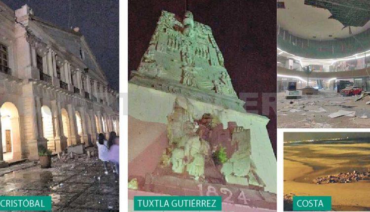 02 Cuantiosos daños en Chiapas. (cuartopoder.mx)