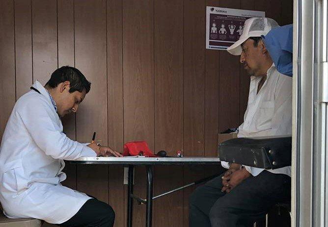 INVITAN A JORNADA MEDICA EN UNIDAD HABITACIONAL EL RINCON
